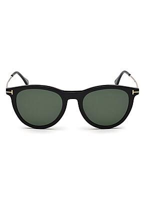2c300dfa6722 Tom Ford - Arnaud 53MM Geometric Sunglasses - saks.com
