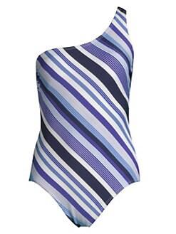 601118d8a2445 Amoressa. Mykonos Athena One-Shoulder One-Piece Swimsuit