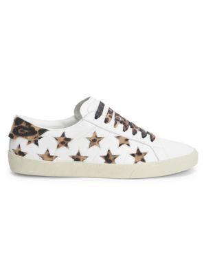 Signature Court Classic Sneakers, White
