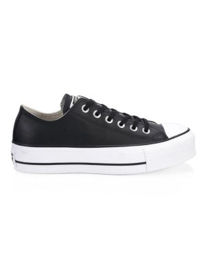 Lift Leather Platform Sneakers by Converse