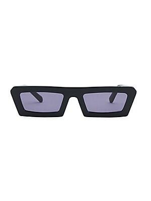 4df4f4a00c6c5 Karen Walker - 46MM Angular Cat Eye Sunglasses - saks.com