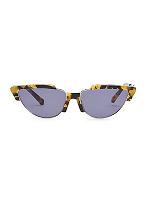 20567c6c243c Karen Walker - Tropics 58MM Cat Eye Sunglasses - saks.com