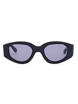 05a5e51f64 Treasure 52mm Square Sunglasses.  200.00 · Karen Walker - Castaway 48MM  Oval Black Sunglasses