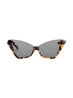 53d4a5ff6f Karen Walker - Miss Lark 52MM Cat Eye Sunglasses - saks.com