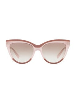 4c2e13dad QUICK VIEW. Valentino. 54MM Cat-Eye Sunglasses