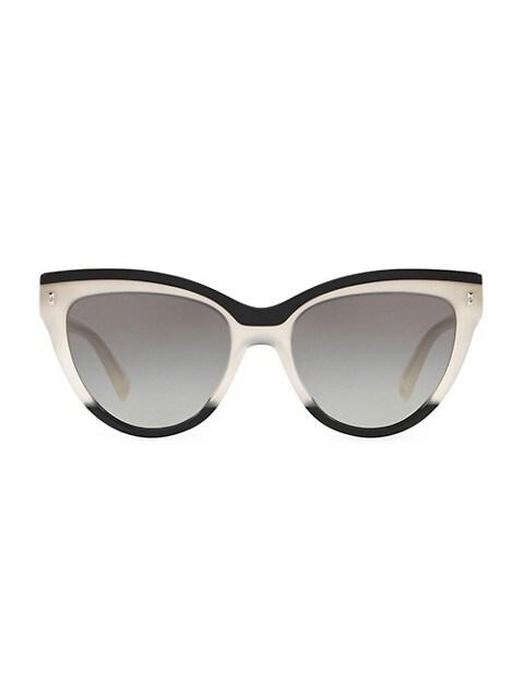 54MM Cat-Eye Sunglasses