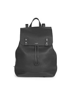 b53c7ee25c25 Saint Laurent. Sac Du Jour Leather Drawstring Backpack