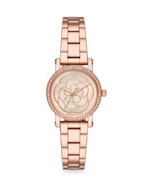 Petite Norie Rose-Goldtone Bracelet Watch, Rose Gold