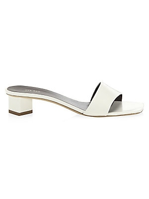 0bfd4034849bf The Row - Chocolate Leather Sandals - saks.com