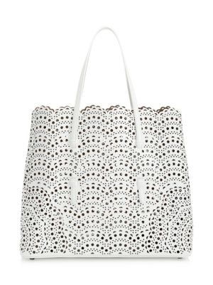 eeb23f1af13 Saint Laurent - Large Leather Shopper Tote - saks.com