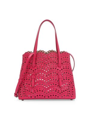 Alaïa  Mini Cutout Vienne Wave Tote