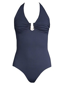 52dfa970336e3 QUICK VIEW. Melissa Odabash. One-Piece Ruched Swimsuit