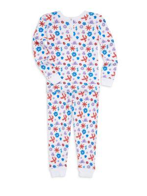 Baby Girls Aeolian Islands Posei TwoPiece Cotton Pajama Set