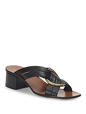 Chloé Rony leather sandals 1XcQJIqZ9