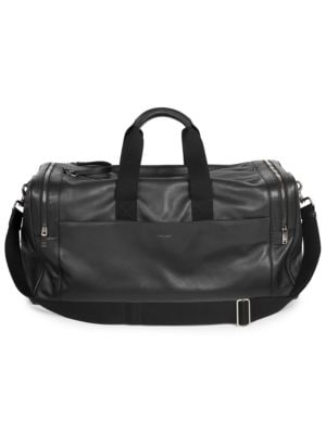 Saint Laurent Leather Duffle Bag