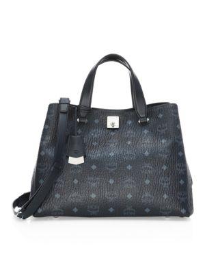 Saint Laurent - Large Leather Shopper Tote - saks.com e3a48ecbf5c5b