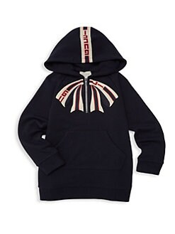 7c4492eb9052a9 Gucci. Little Girl s   Girl s Bow Hoodie