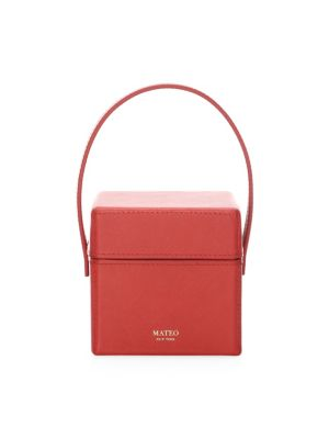 The Catherine Leather Box Bag by Mateo New York