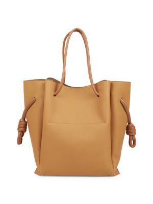 Flamenco Knot Leather Tote by Loewe
