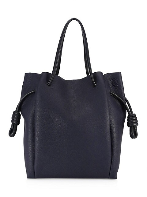 Flamenco Knot Leather Tote