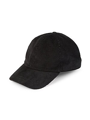 ebb1c117d95 Saks Fifth Avenue - COLLECTION Corduroy Baseball Hat with Ear Flaps