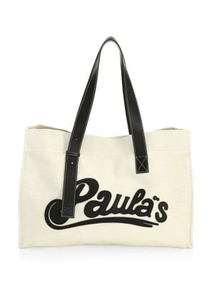 X Paula's Ibiza Large Tote Bag by Loewe