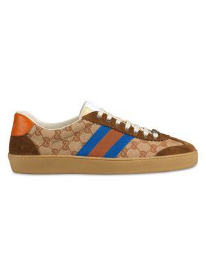545ce11af Gucci - Flashtrek Leather & Canvas Sneaker - saks.com