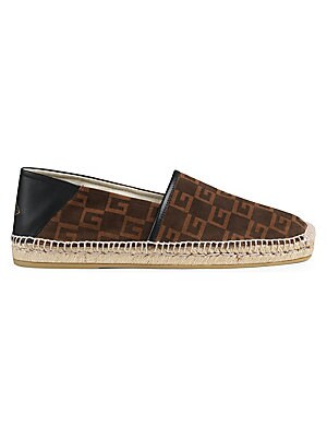 6c051ac7cae9 Gucci - Web   Leather Thong Sandals - saks.com