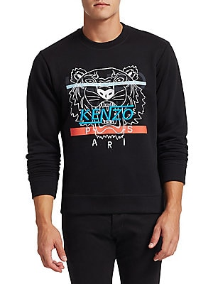 5d3e88006c6088 Kenzo - Hyper Tiger Embroidered Sweatshirt - saks.com