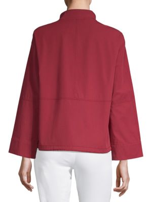 LAFAYETTE 148 Cottons Kellen Cotton Jacket