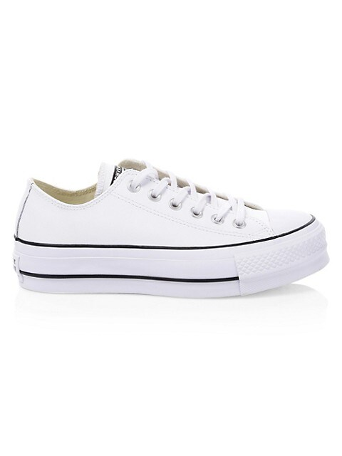 Converse Chuck Taylor All Star Leather Platform Low-Top Sneakers ...