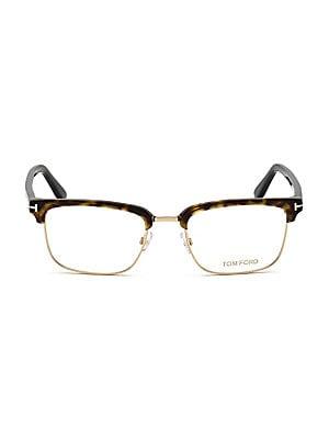 8c8b2a313cac8 49MM Square Eyeglasses.  400.00. Tom Ford - 54MM Square Optical Glasses