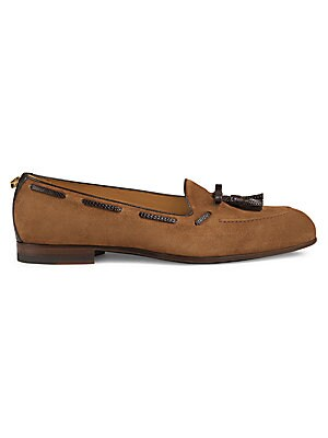 0f8c039aa46 Gucci - Brixton Leather Loafers - saks.com