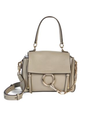 888dae89d Chloé - Small Faye Leather & Suede Shoulder Bag - saks.com