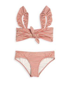 Little Girls  Girls Bayou Frill Bikini Set