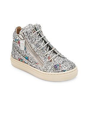 63ecd3db4bee5 Giuseppe Zanotti - Baby's & Kid's Balloons Glitter Mid-Top Sneakers -  saks.com