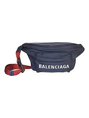e7e9d2447d Balenciaga - Wheel Nylon Logo Belt Bag - saks.com