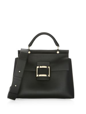 Small Leather Satchel by Roger Vivier
