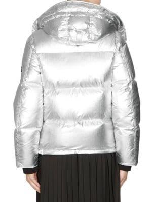 KENZO Downs Metallic Puffer Jacket