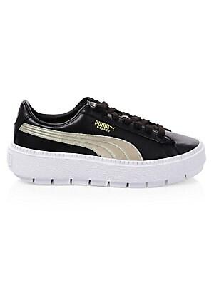 2542d0401f1 PUMA - Platform Trace Varsity Sneakers - saks.com