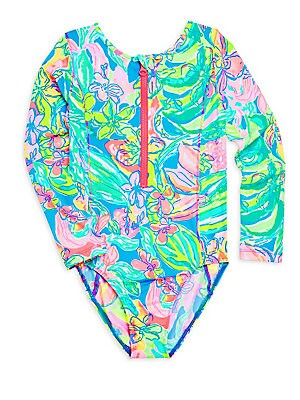 ff99c4cc931f4 Lilly Pulitzer Kids - Little Girl's & Girl's Alaina UPF 50+ One-Piece  Printed Swimsuit - saks.com