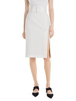 936e62d5c Belted Pencil Skirt BLACK-WHITE. QUICK VIEW. Product image. QUICK VIEW. Sara  Battaglia