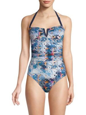 Shan One-Piece Graphic Swimsuit
