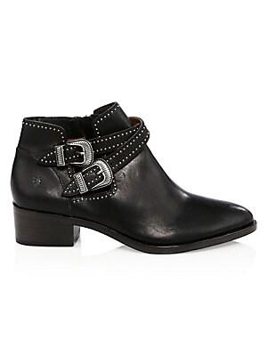 4dd5125f276 Frye - Billy Short Leather Boots - saks.com