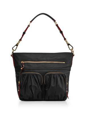 MZ WALLACE Belle Hobo Bag - Black