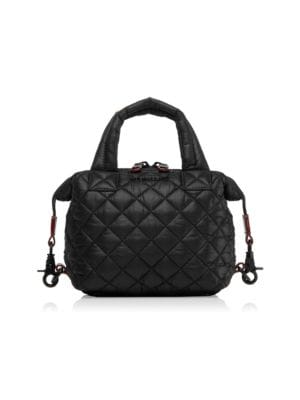 MZ WALLACE Micro Sutton Tote - Black