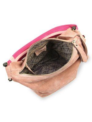 MANU ATELIER Shoulder bags Micro Fernweh Suede Bucket Bag