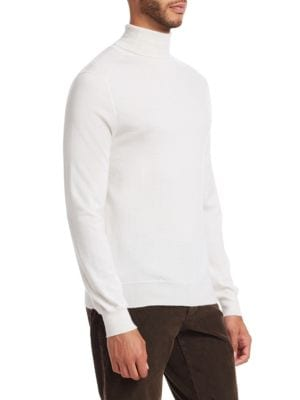 SAKS FIFTH AVENUE Cashmeres COLLECTION Lightweight Cashmere Turtleneck