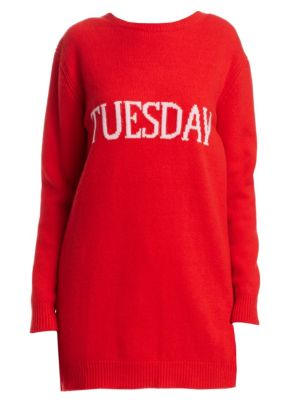 Rainbow Week Capsule Days Of The Week Tuesday Tunic, Red