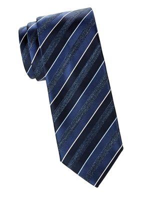 Brioni Silk Stripe Tie